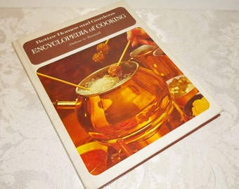 Vintage Better Homes and Gardens Cookbook Encyclopedia of Cooking Volume 1 1970