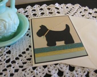 Scotty Dog Card