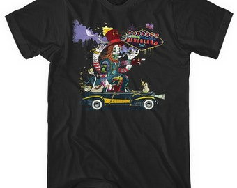 Snake Eye King T-shirt - Men and Unisex - XS S M L XL 2x 3x 4x - Illustration, Vegas, Horror, Crazy Tee - 3 Colors