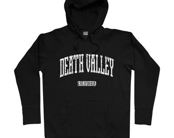 Death Valley Hoodie - Men S M L XL 2x 3x - Death Valley California Hoody, Sweatshirt, Mojave Desert, Cali - 4 Colors