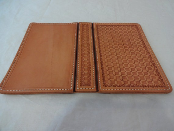 Leather Craft Book Cover : Leather stamped daytimer address book cover you finish craft