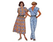 Skirt and Top Pattern Pants Large Size Butterick 3822