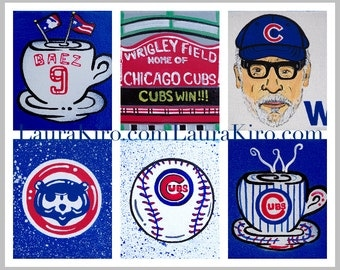 Print Chicago Cubs Series Limited Edition