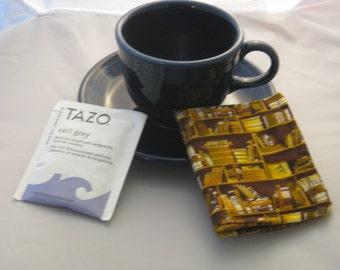 Library Tea Wallet