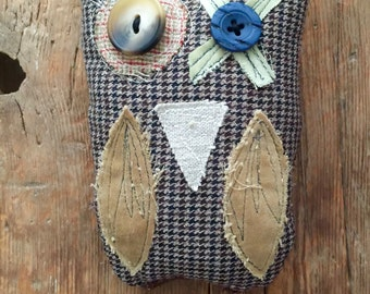 Hugs & Kisses Whimsical Owl