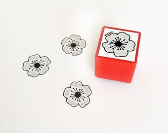 Cherry Blossom Rubber Stamp