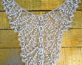 Delicate Beaded Appliques