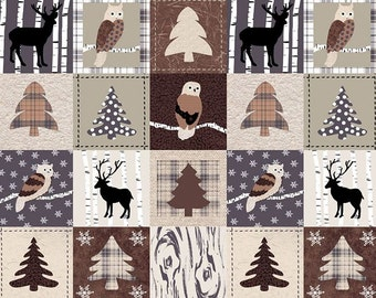 STOF Fabrics by Blank Quilting - Winter Is Coming Panel