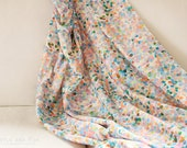 Best Seller // Order by the Yard, Confetti Mermaid Pearl Printed Fabric Organic Cotton Knit or Quilting Cotton | Ships from USA