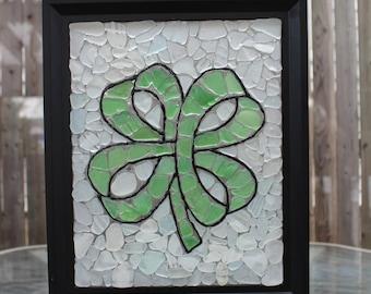 Shamrock Sea Glass Mosaic