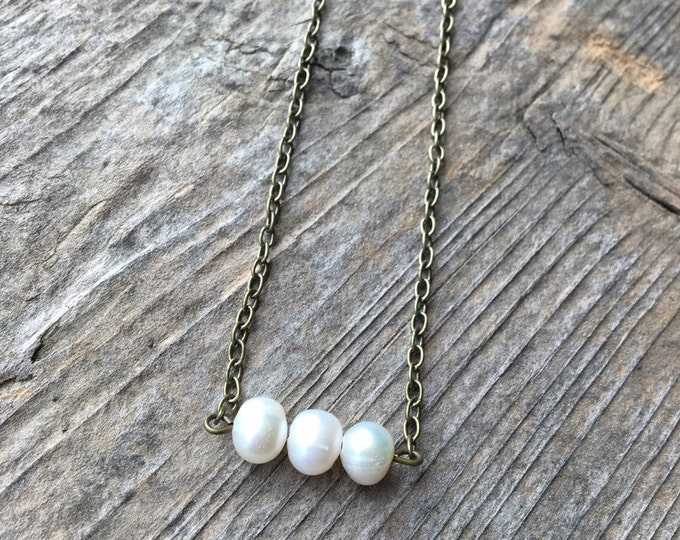 Freshwater Pearl Necklace Jewelry