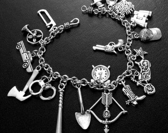 Walking Dead Inspired Charm Bracelet