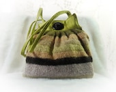Small Purse Small Handbag Upcycled Knit Bag Again
