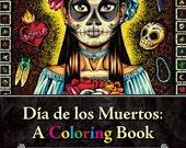 Día de los Muertos: A Coloring Book