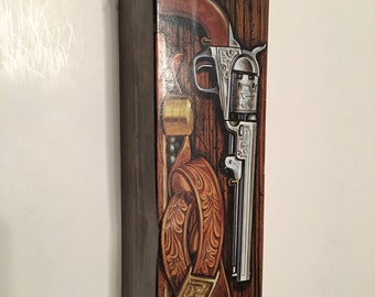 avon colt revolver decanter in original box