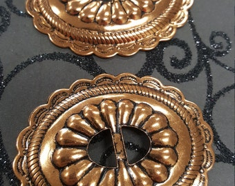 Copper plated Conchos