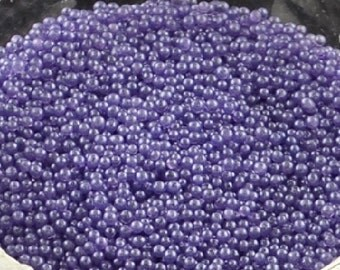 Slate Blue Caviar Beads - 1 oz