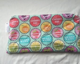Small Soda Pop Mama Cloth Make Up Wet Bag