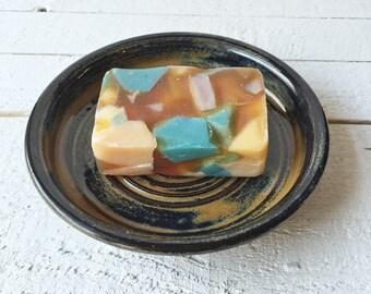 Soap Dish, Ceramic Soap Dish, Pottery Soap Dish