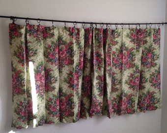 Curtains Ideas curtains for short wide windows : Vintage Curtains & Window Treatments – Etsy