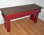 Farmhouse Bench - 36 inch Bench - Entryway Bench - Foyer Bench - Kitchen Bench