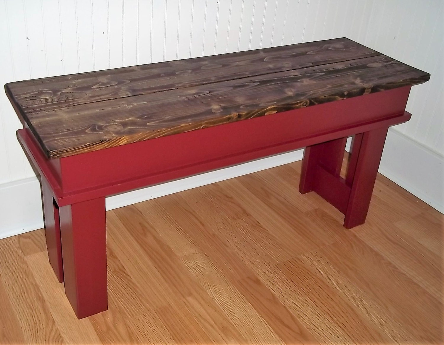 Farmhouse Bench 36 Inch Bench Entryway Bench Foyer Bench