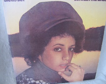 Vintage LP 33rpm record album Janis Ian Between the Lines