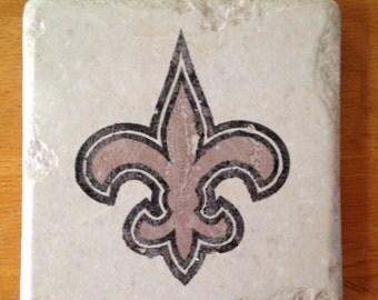 New Orleans Saints Coasters Set of 4