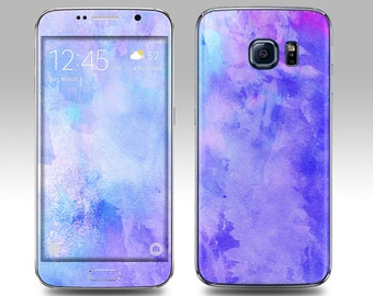 WINTER WATERCOLOR Galaxy Decal Galaxy Skin Galaxy Cover Galaxy S6 Skin, Galaxy S6 Edge Decal Galaxy Note Skin Galaxy Note Decal Cover