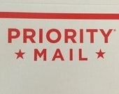 Domestic Priority Shipping Upgrade--in U.S. only
