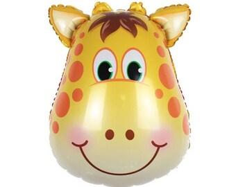 Giraffe Balloon Animal Giraffes Balloons Ballon ( Birthday Decor & Party Balloon Supplies )