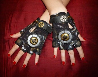 "Women's ""Road Warrior"" (Pair)- Apocalypse, Wasteland Weekend, Mad Max, Burning Man, Dragon Con, Halloween, Cosplay, Renaissance Fest,"
