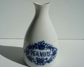 Mid Century Peanut Shaker or Bud Vase By Porsgrund Norway