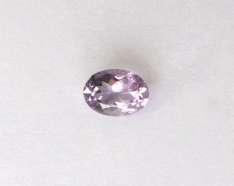 Natural Purple Amethyst, Unheated, Oval Cut, 5.31 carats
