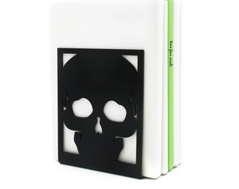 Skull Bones Bookend, Modern And Minimalistic Style.