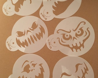 Halloween Cookie Stencils