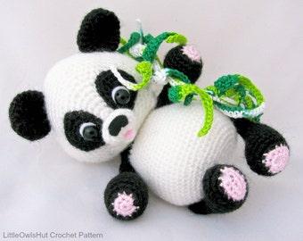 119 Crochet Pattern - Panda - Amigurumi PDF file by Pertseva Etsy