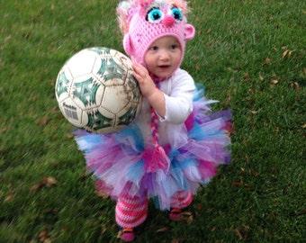 Abby Cadabby Full Crochet Costume Hat Leggings and Tutu