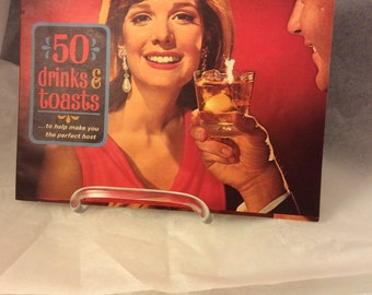Vintage Southern Comfort 50 Drinks and Toasts Bar Guide Recipe Book