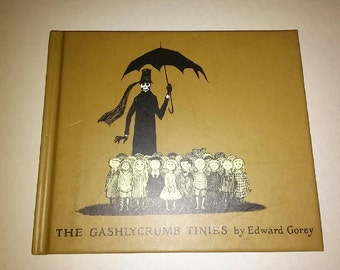 The Gashlycrumb Tinies By Edward Gorey Vintage 1991 Hardcover Book Goth