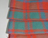 Baby Kilt, 0-6m,  in MacIntosh Clan Ancient, 100% 10oz Pure New Wool, Handmade in Scotland.