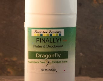 New! Finally! A Natural Deodorant that actually works - Dragonfly Scent