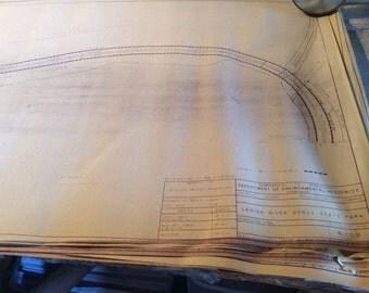 Railroad Map, Train, Trains, Lehigh Valley, Railroad, RR, Maps, Industrial, Lehigh River, Gorge, Coal, Carbon County, Blueprints