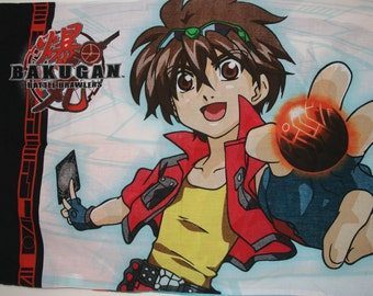 Bakugan Battle Brawlers Pillow Case Standard Size Pillow Case