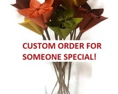 Comic Book Paper Flowers WITH Stems