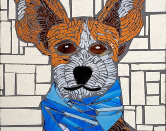 Custom Pet Portraits Mosaic