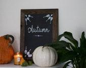 18 x 24 Chalkboard- Kitchen Chalkboard - Reclaimed Wood Framed - Wedding Chalkboard - Gift for Her - Christmas Gift