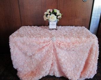 Rose Garden Table Linen/ specialty linen/ Wedding Linen/ Wedding Decorations/ Luxury linens/ bride and groom/ Bridal Shower/ Baby Shower