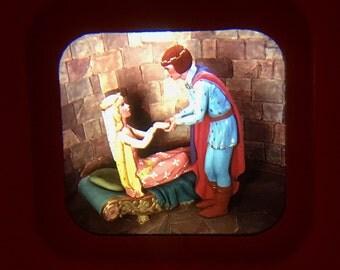 Vintage View-Master Reel, Sleeping Beauty, gaf Sawyer's Inc, 1953, 3D Viewer Reel with Storybooklet, GAF, 1950s