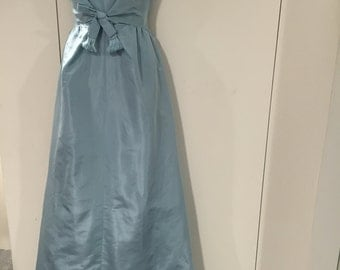 """1960""""s Givenchy Couture Silk Gown Dress"""